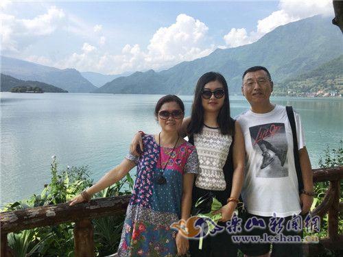 一家人就喜欢外出旅游