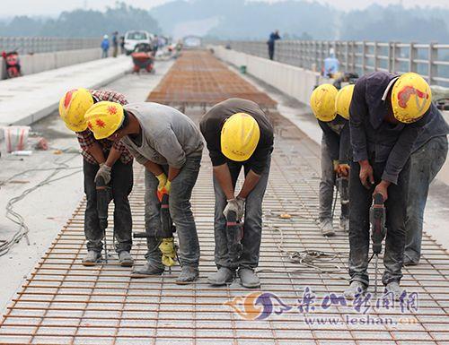 犍为交通建设项目稳步推进