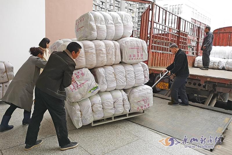 温暖过冬 w88优德140余万元御寒物资将发至受灾困难群众手中