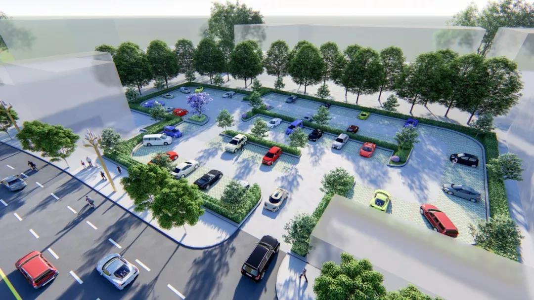 樂山這個地方要新建10大停車場、800余個停車位