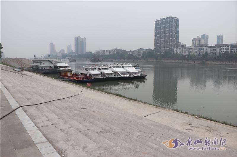 视频|大佛景区芭蕉林客运码头工程建设有新进展